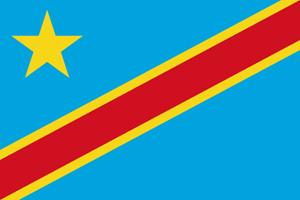 Demokratische Republik Kongo Logo
